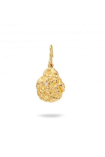 MYA BAY pendentif pépite d'or