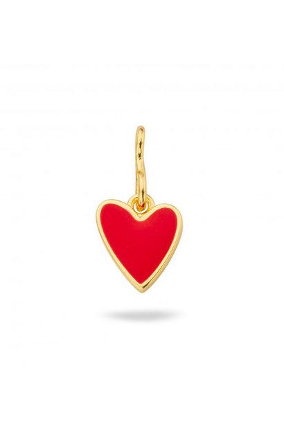 MYA BAY pendentif coeur rouge