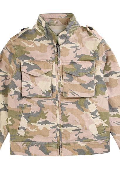 ZADIG&VOLTAIRE veste imprimé camouflage