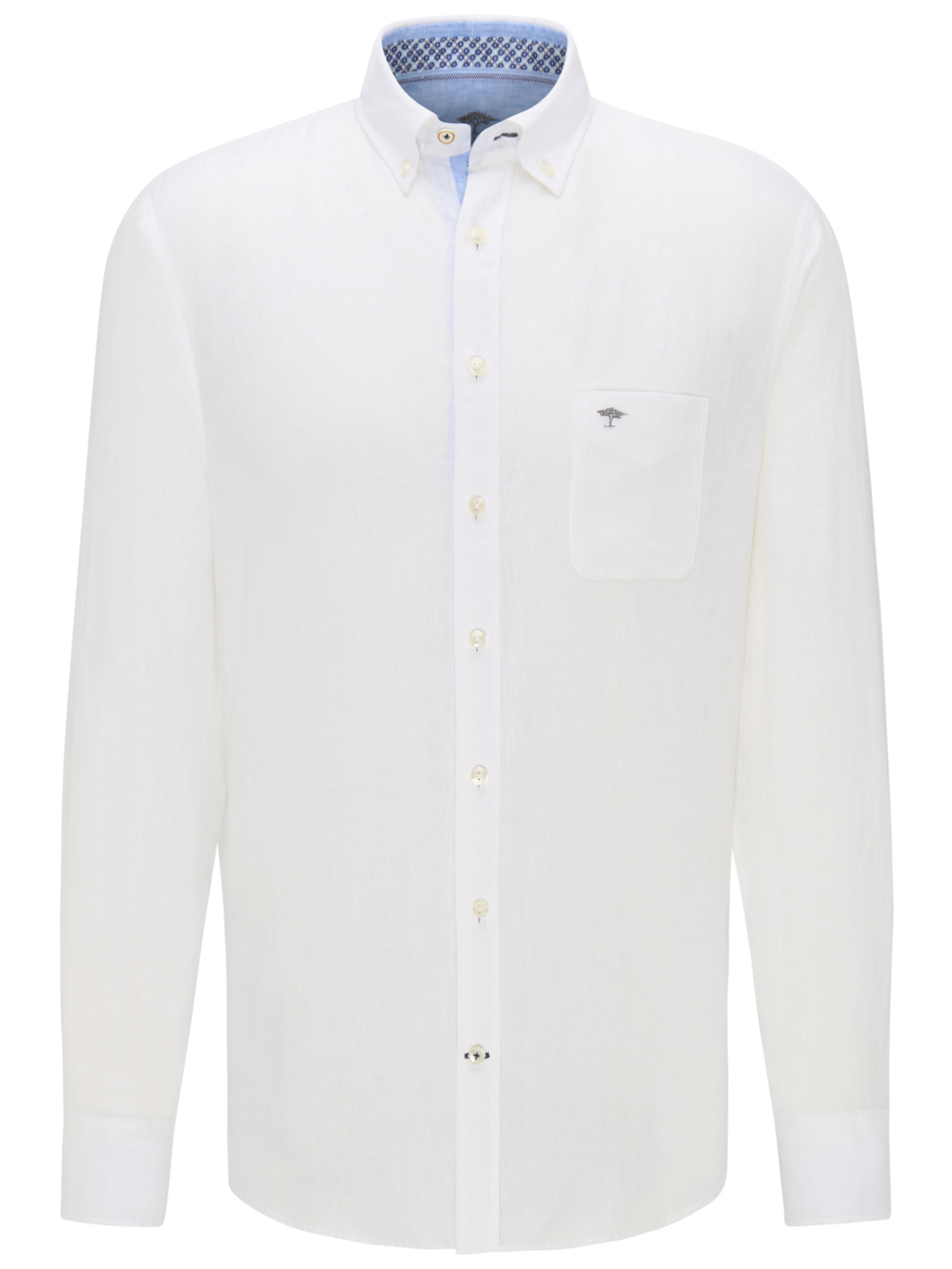 FYNCH chemise en lin-1