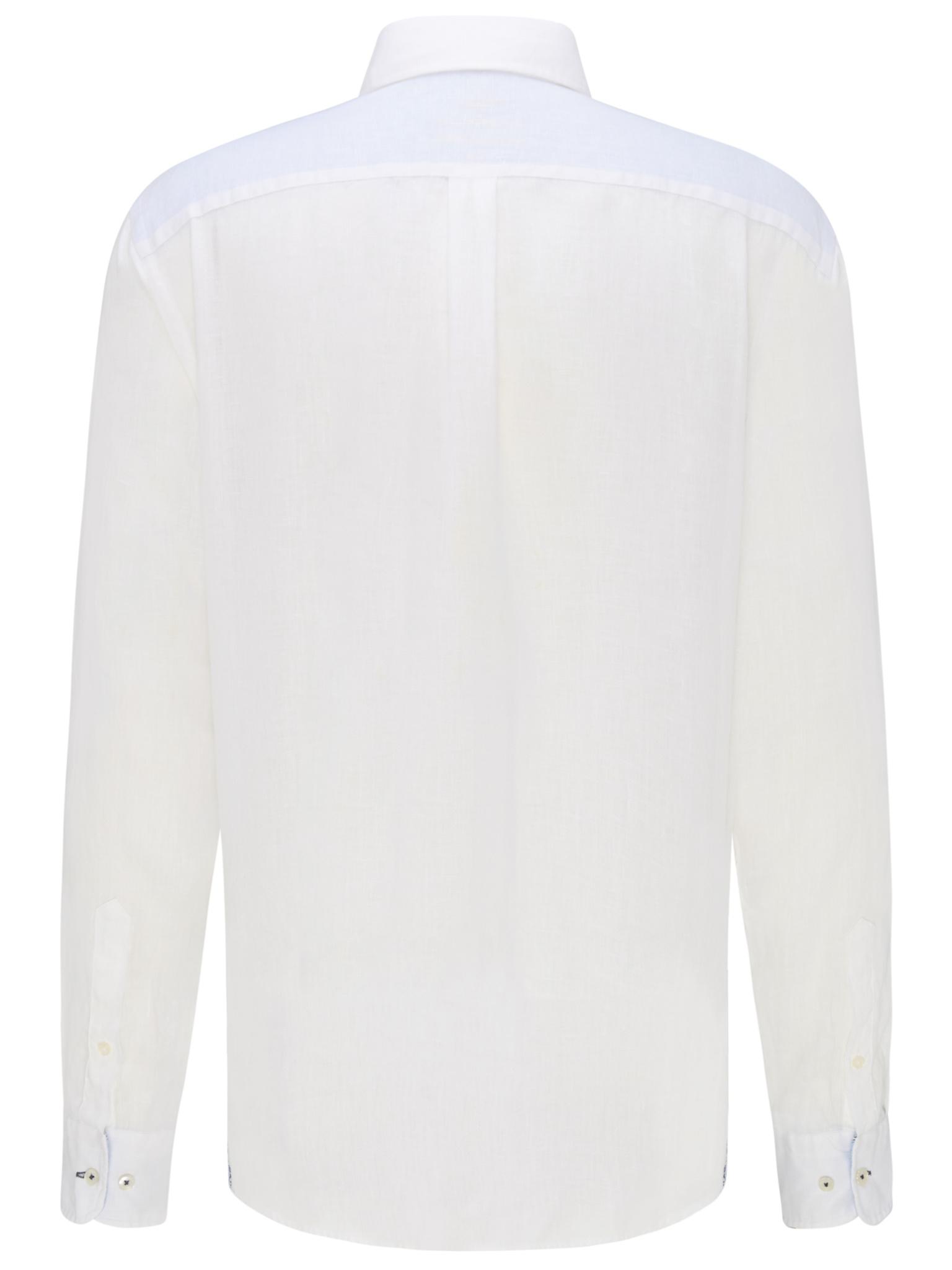 FYNCH chemise en lin-2