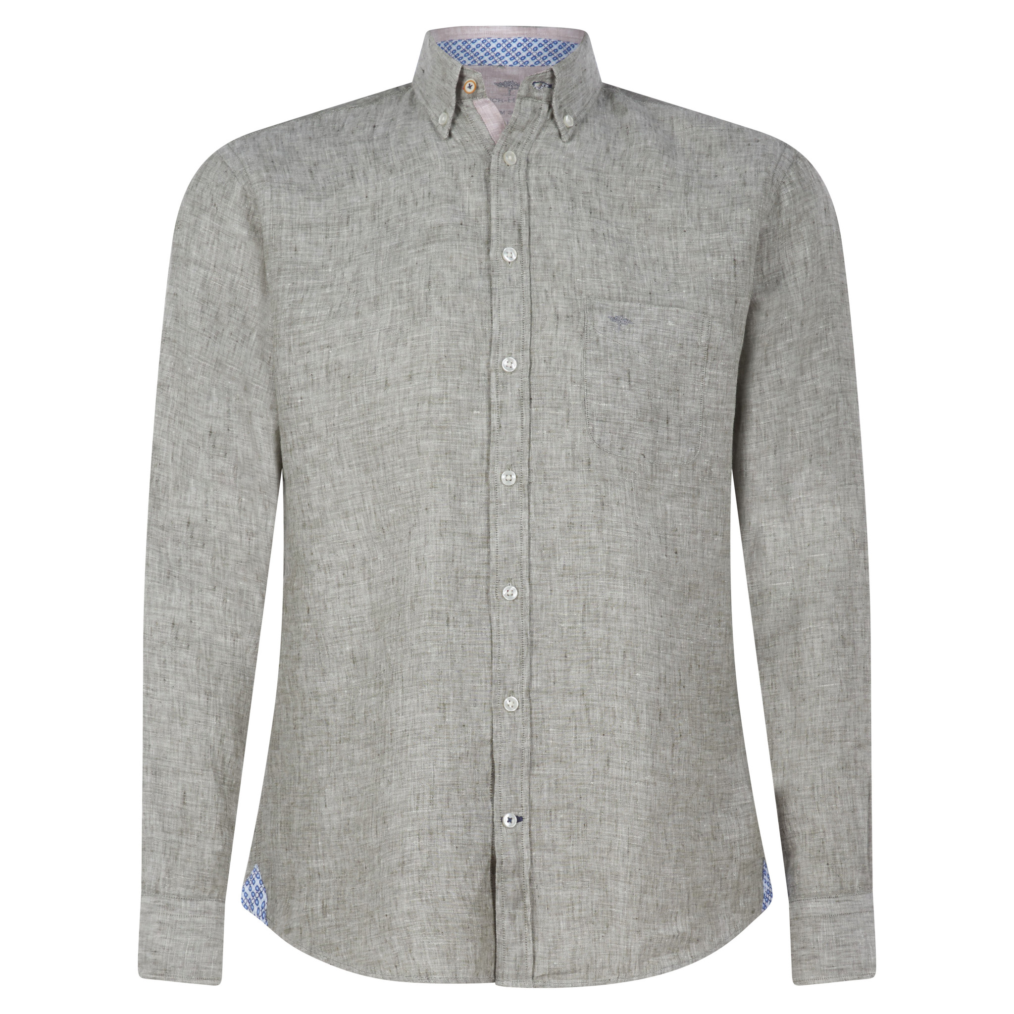 FYNCH chemise en lin-3