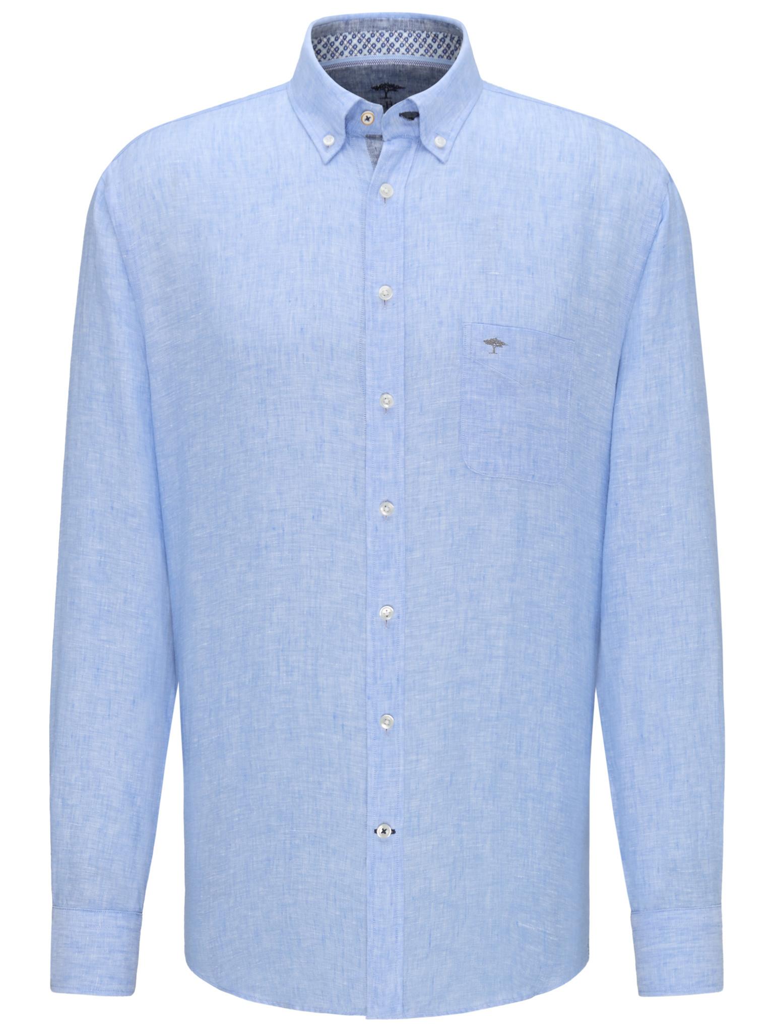 FYNCH chemise en lin-5