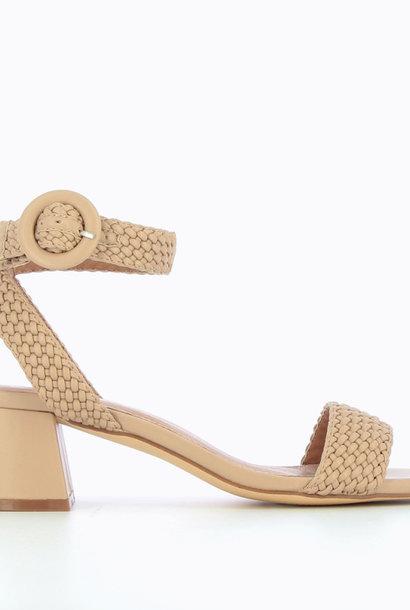 VANESSA WU sandales à talon tressées
