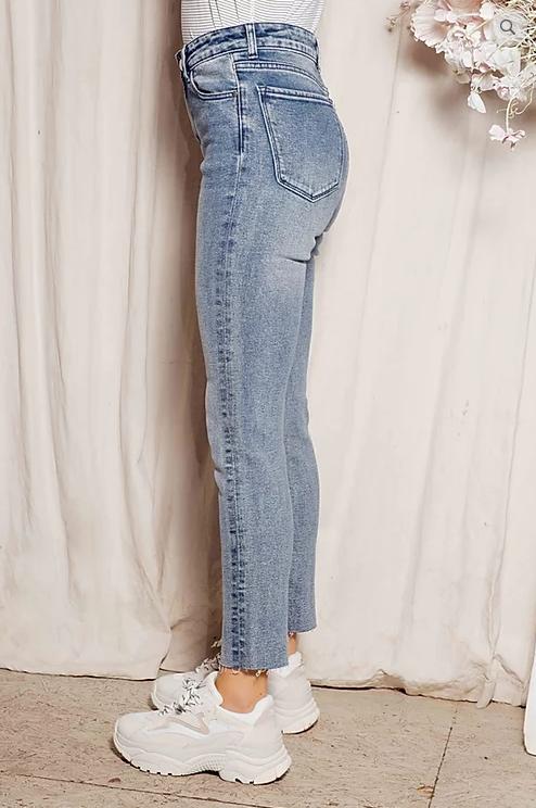 PEPITES fam jeans high waist skinny jill-2