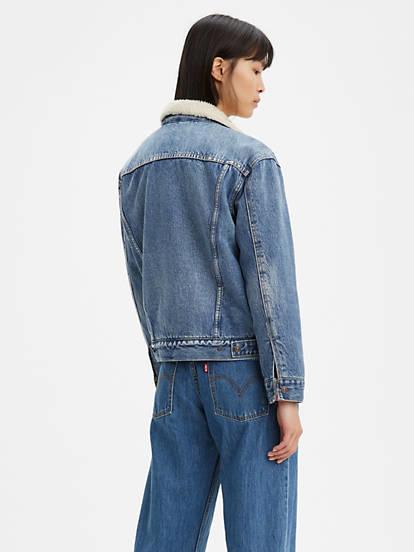 LEVIS veste en jeans trucker-3