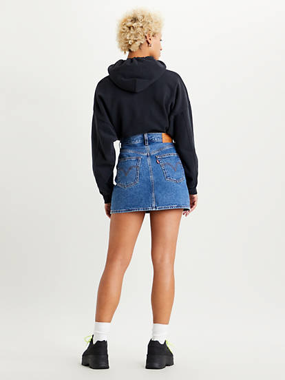 LEVIS ribcage skirt-2