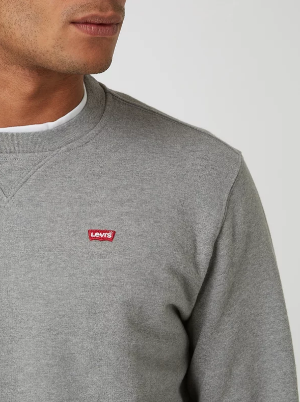 LEVIS sweat-shirt aspect mélangé-2