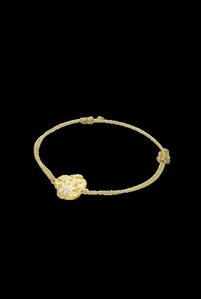 MYA BAY   bracelet pépite d'or