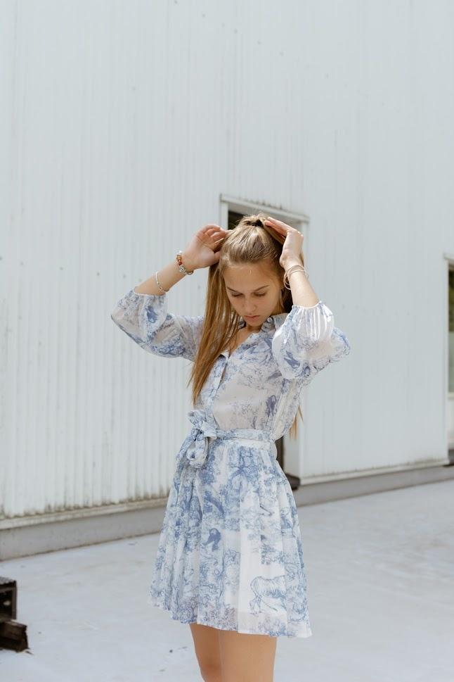 DREAMCATCHER robe bleue-2