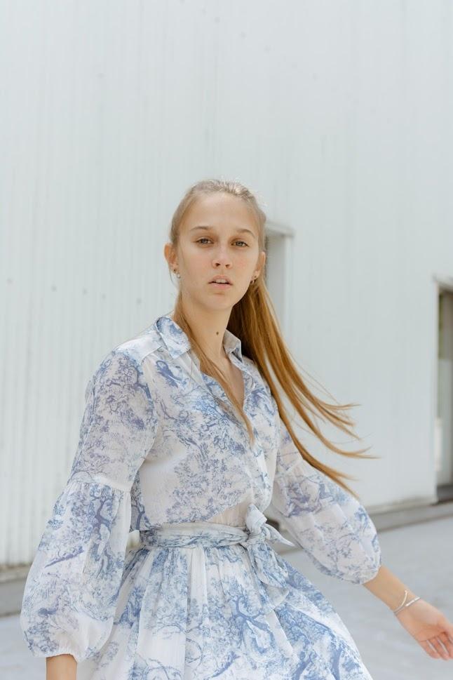 DREAMCATCHER robe bleue-3