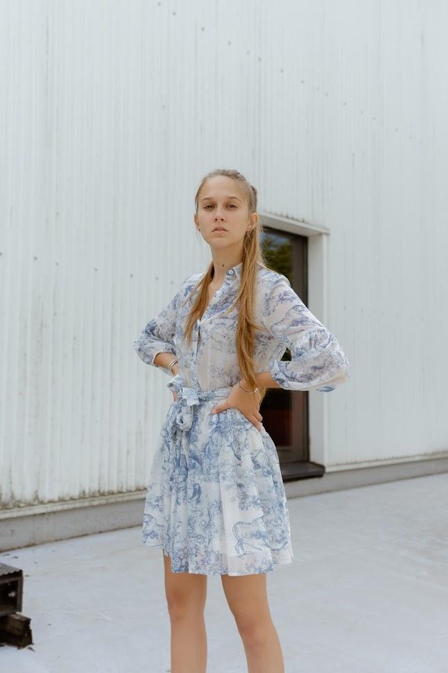 DREAMCATCHER robe bleue-1