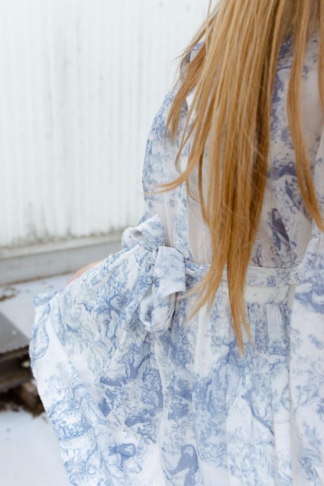 DREAMCATCHER robe bleue-5
