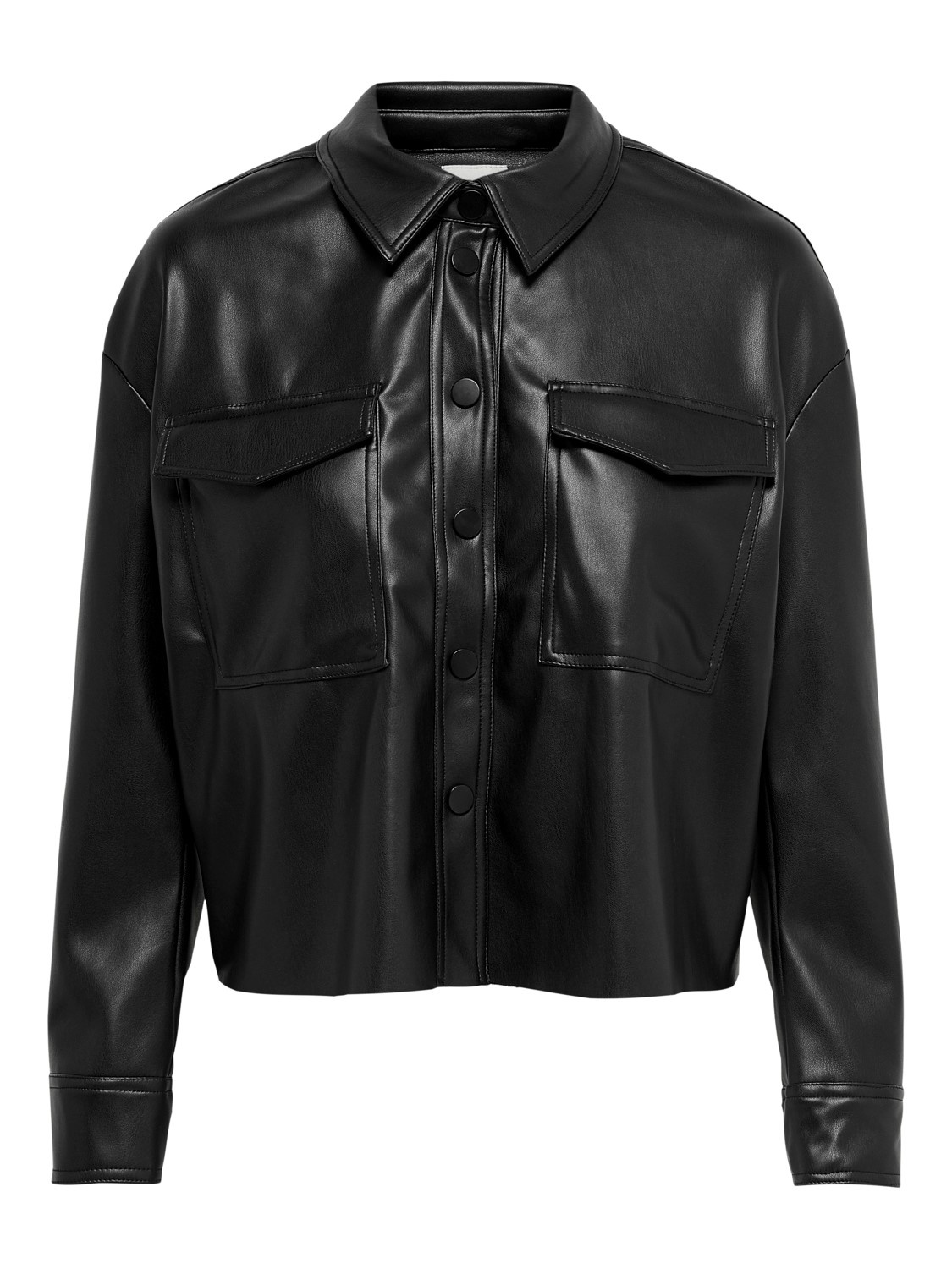 PEPITES only veste marina faux leather-1