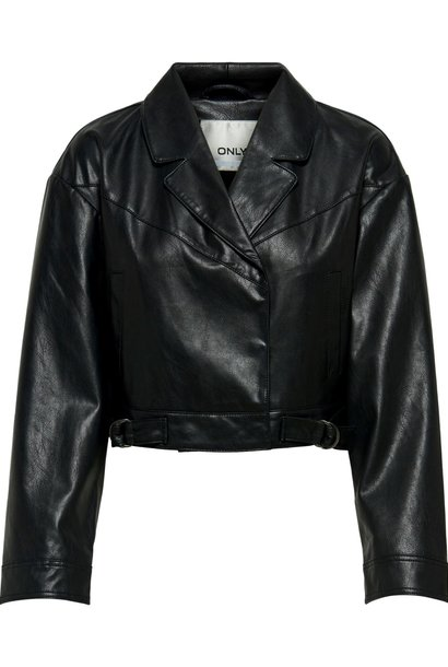 PEPITES only veste kara faux leather