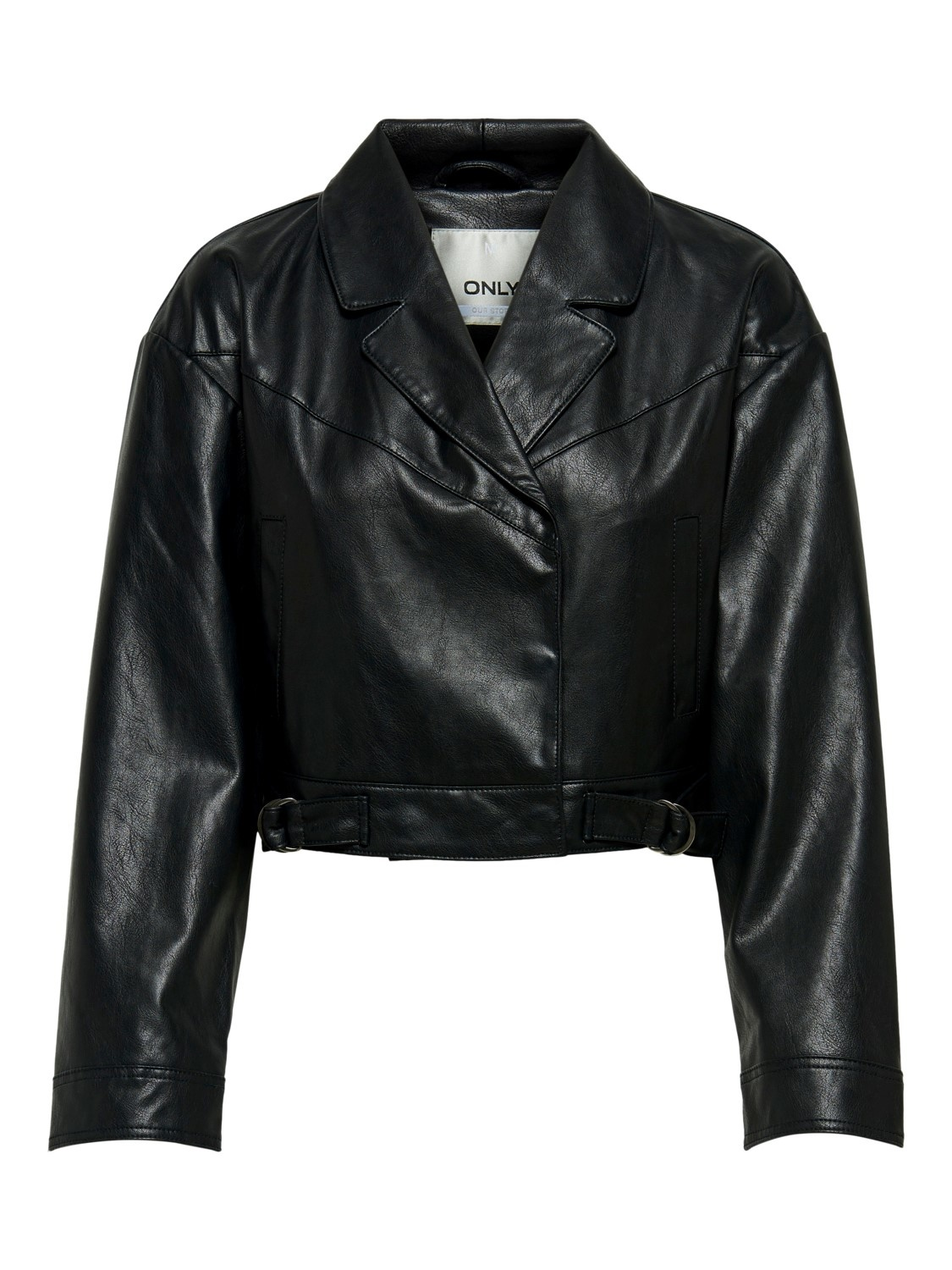 PEPITES only veste kara faux leather-1