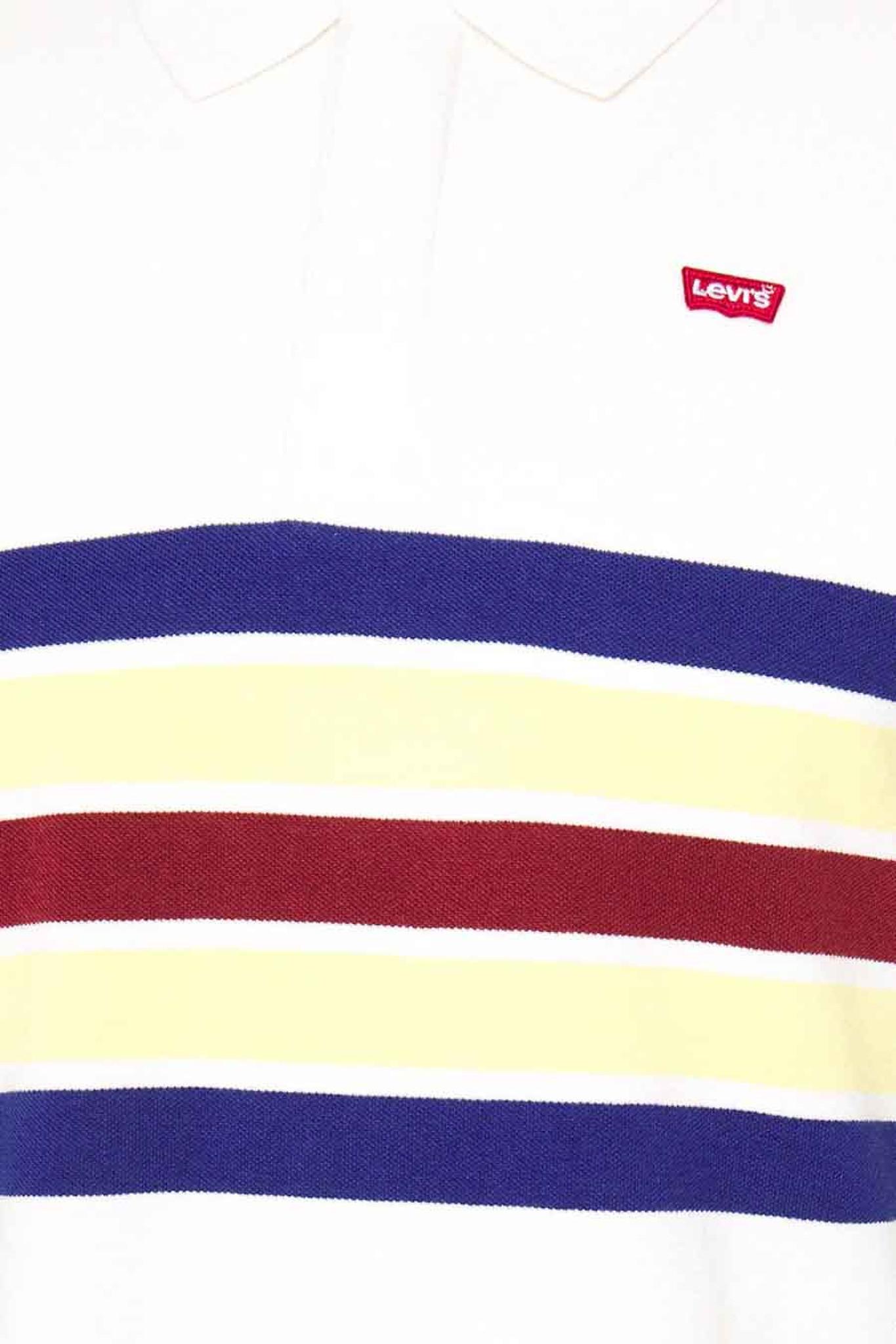 LEVIS polo ligné multicolor-2