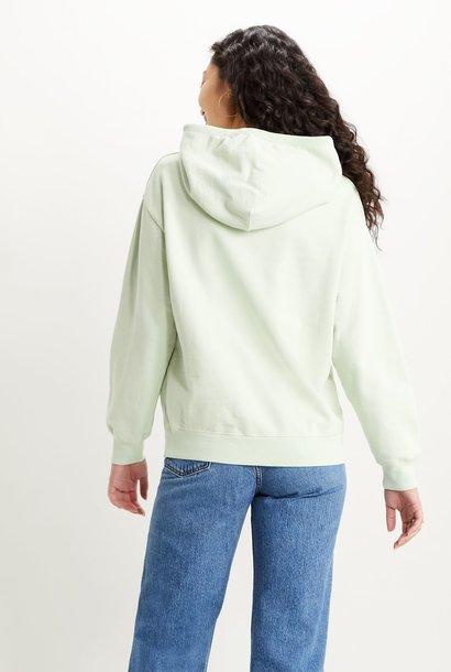 LEVIS sweat hoodie vert