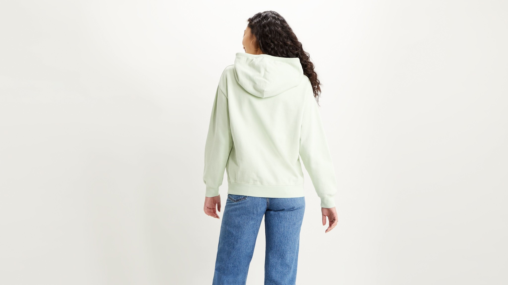 LEVIS sweat hoodie vert-1