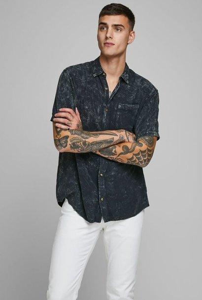 JACK & JONES chemise effet délavé