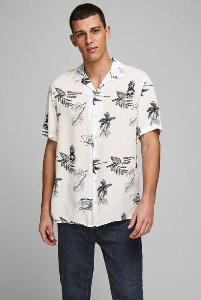 JACK & JONES chemise imprimé palmier