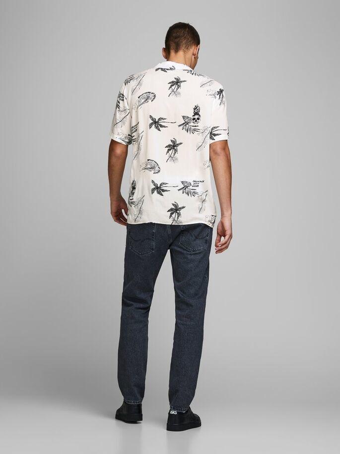 JACK & JONES chemise imprimé palmier-2