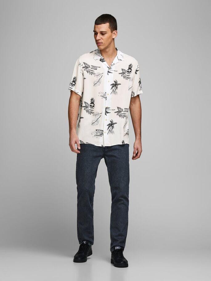 JACK & JONES chemise imprimé palmier-3