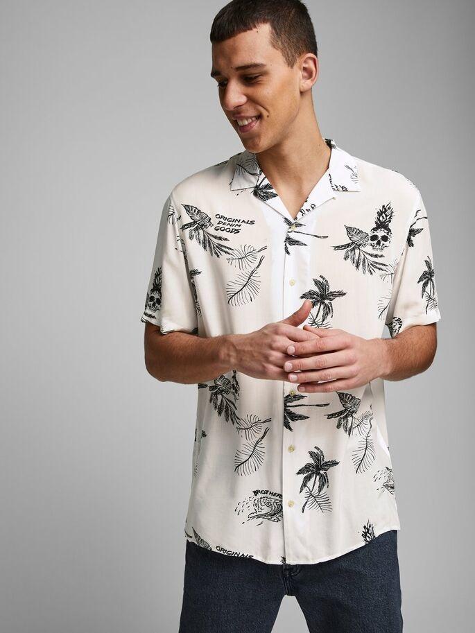 JACK & JONES chemise imprimé palmier-4