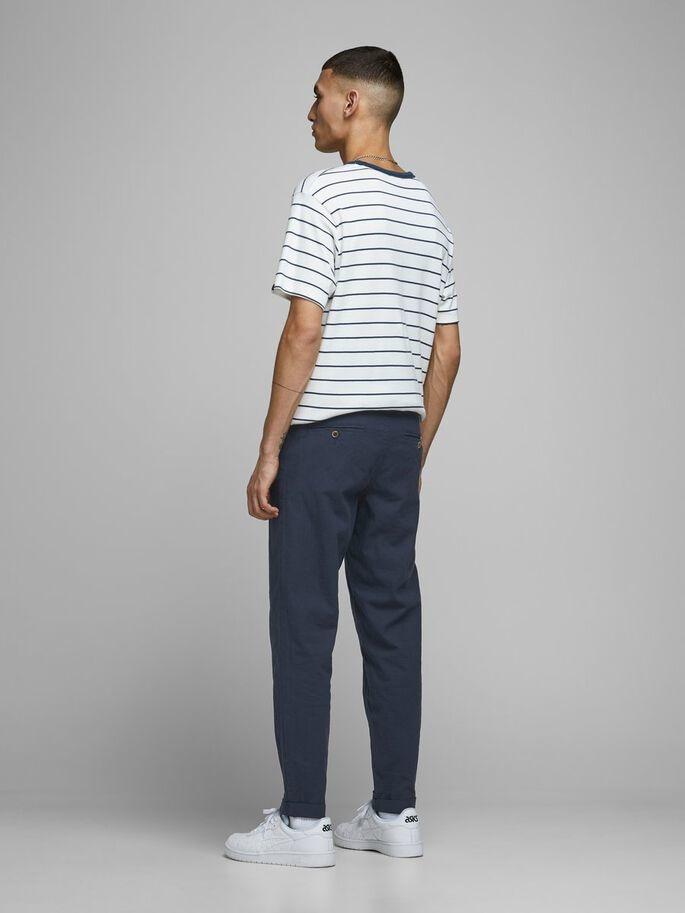 JACK & JONES pantalon lin chino-2