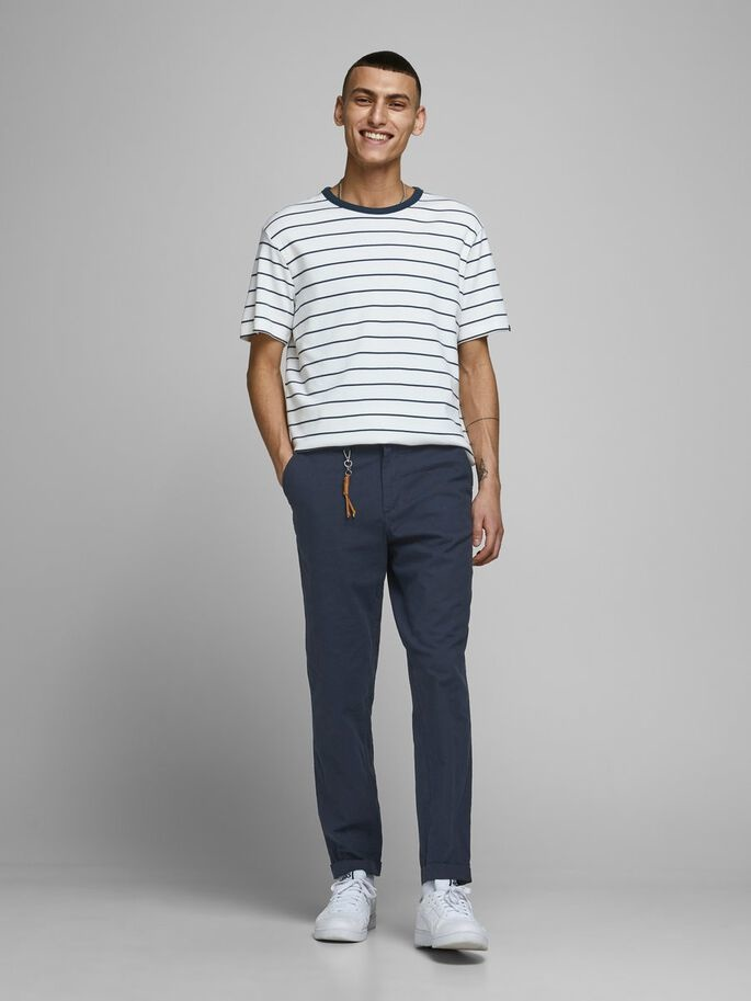 JACK & JONES pantalon lin chino-3