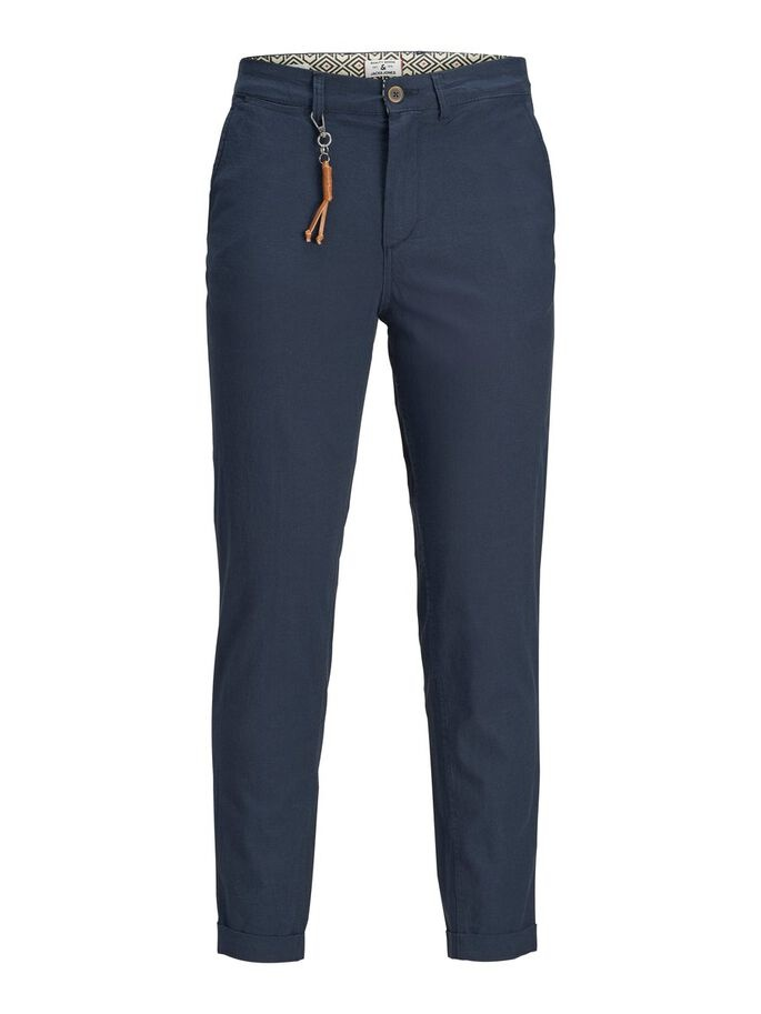JACK & JONES pantalon lin chino-5