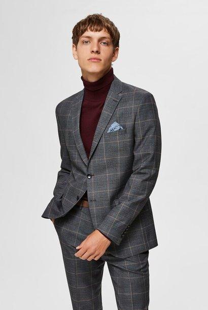 SELECTED blazer coupe slim à carreaux