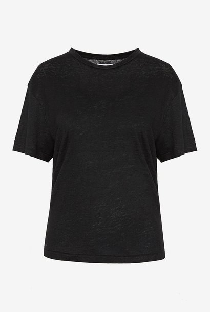ANINE BING t shirt harper noir