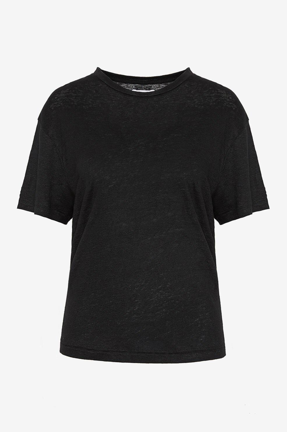 ANINE BING t shirt harper noir-4