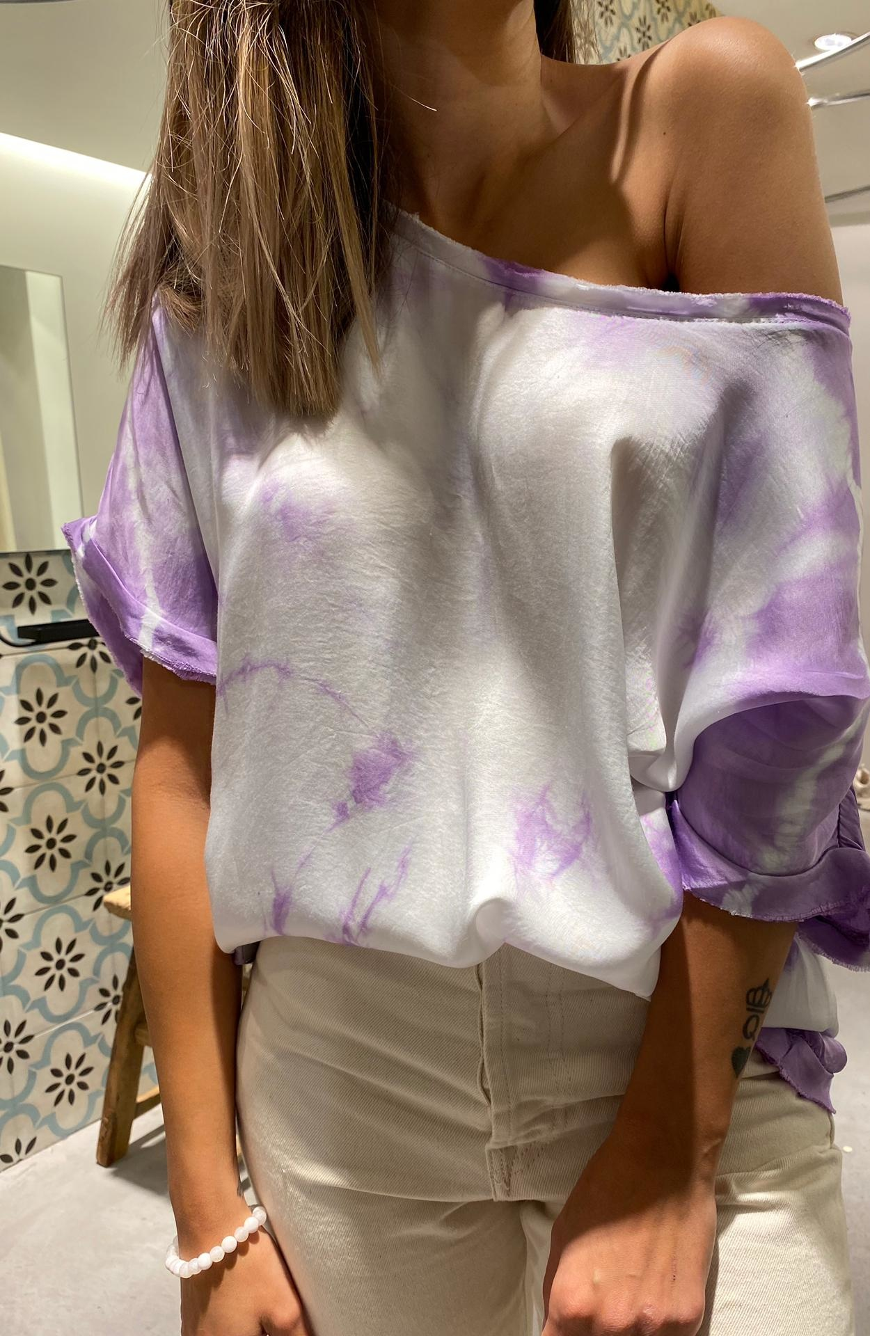 GARCONNE blouse laly tie and dye-2