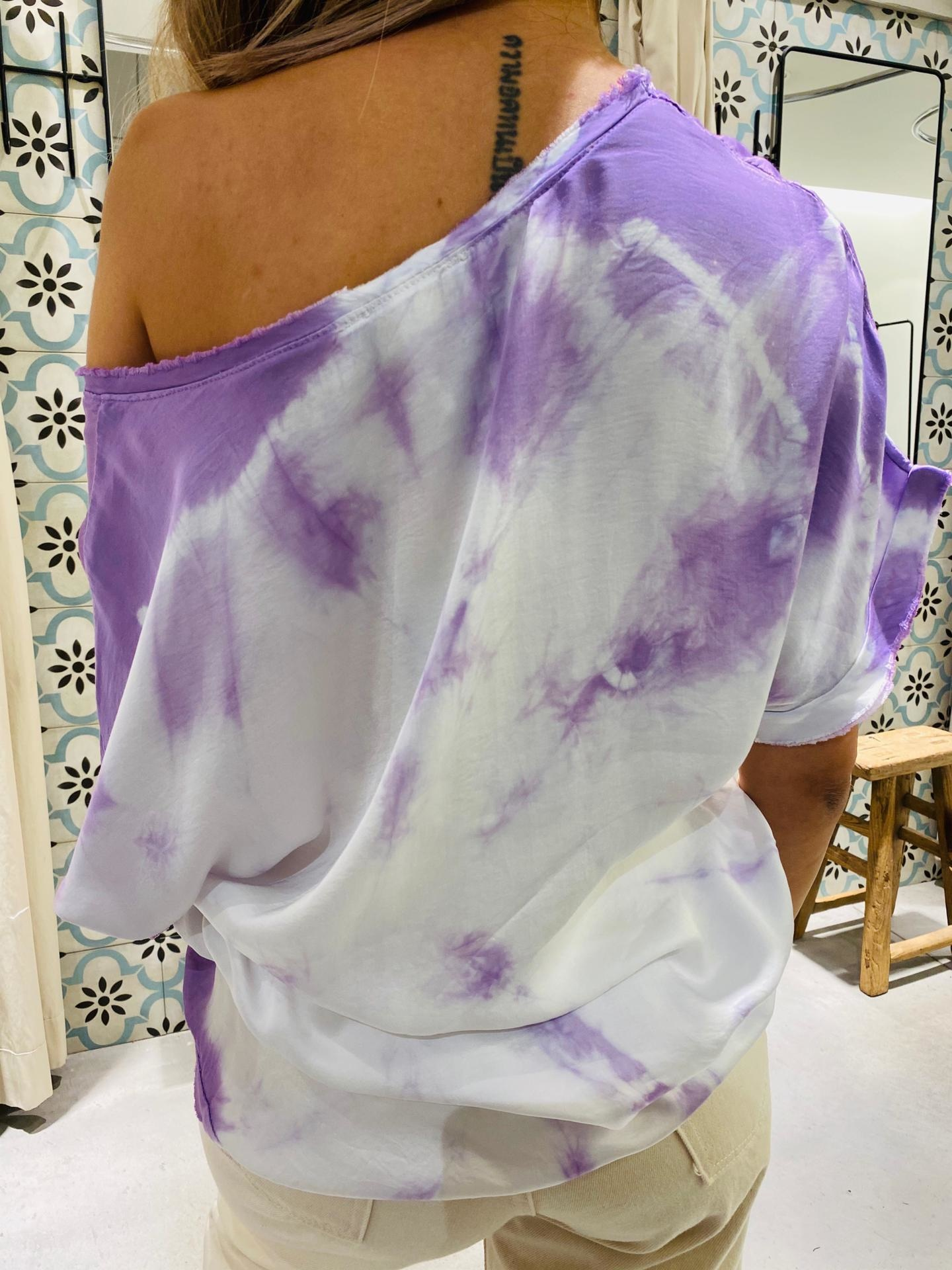 GARCONNE blouse laly tie and dye-3
