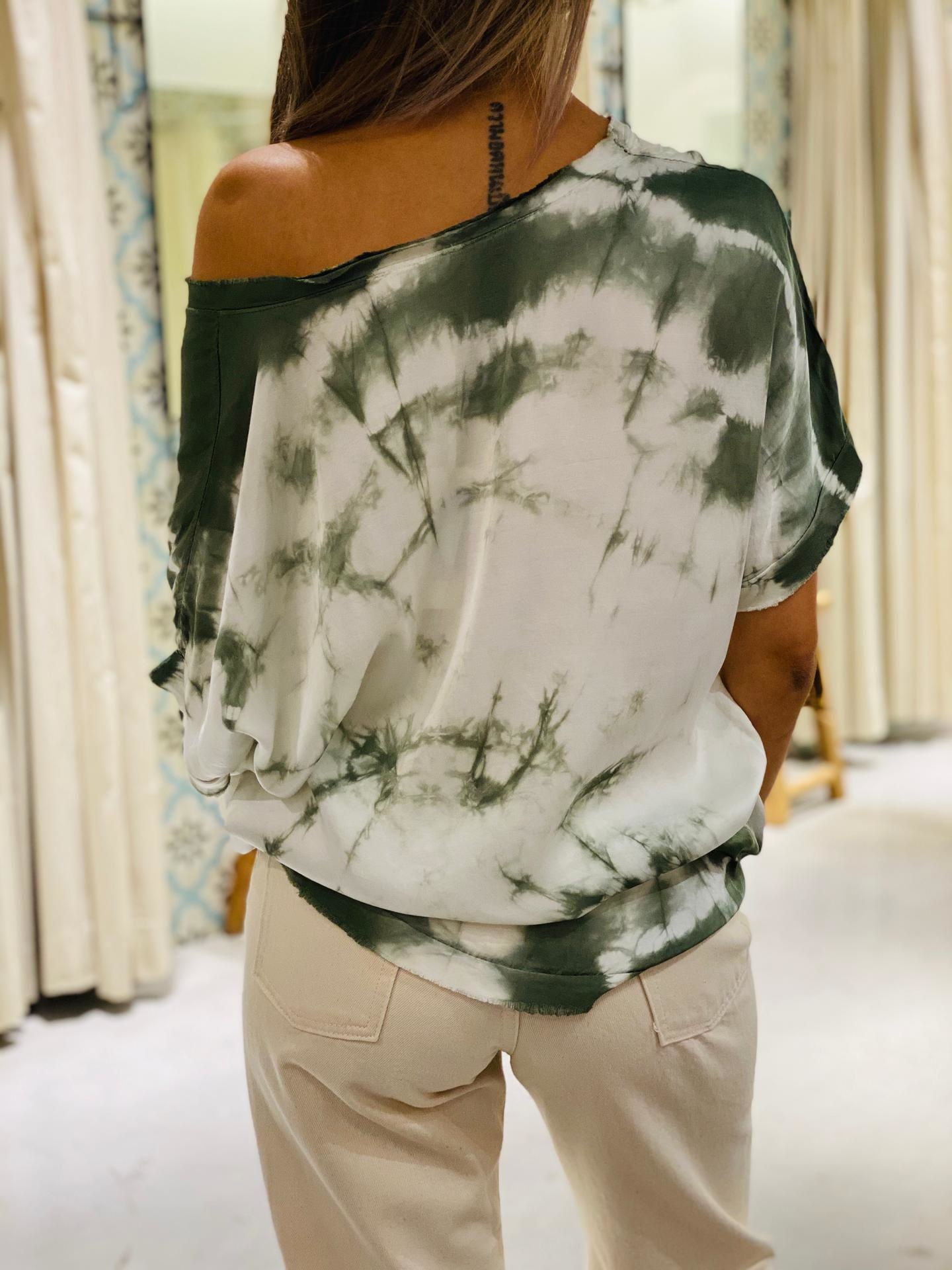 GARCONNE blouse laly tie and dye-6