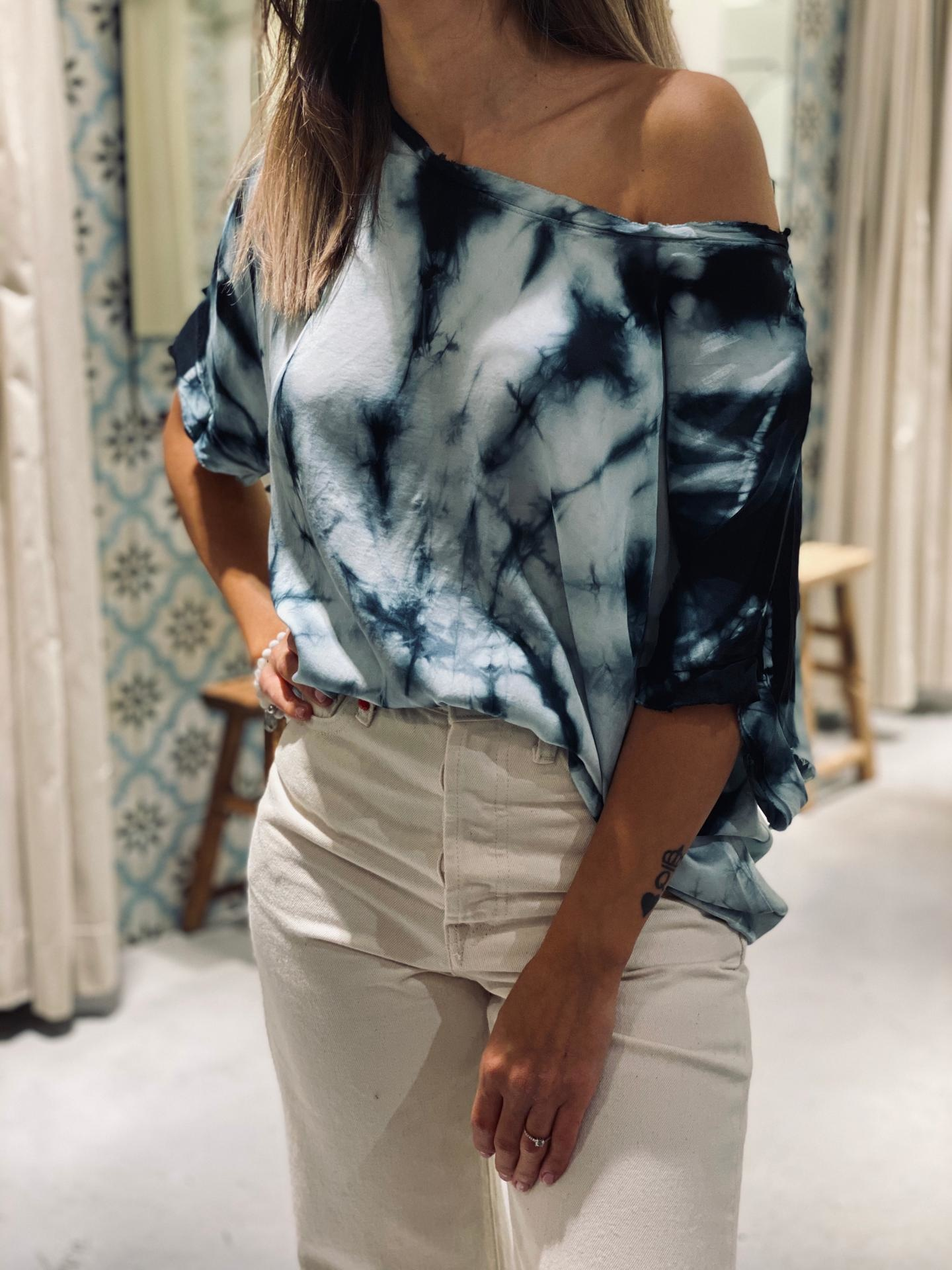 GARCONNE blouse laly tie and dye-9