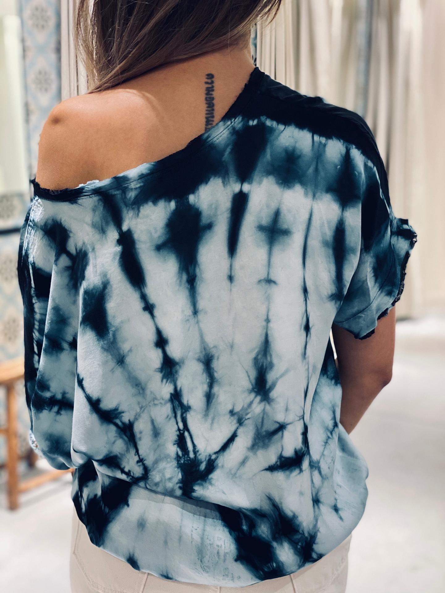 GARCONNE blouse laly tie and dye-11