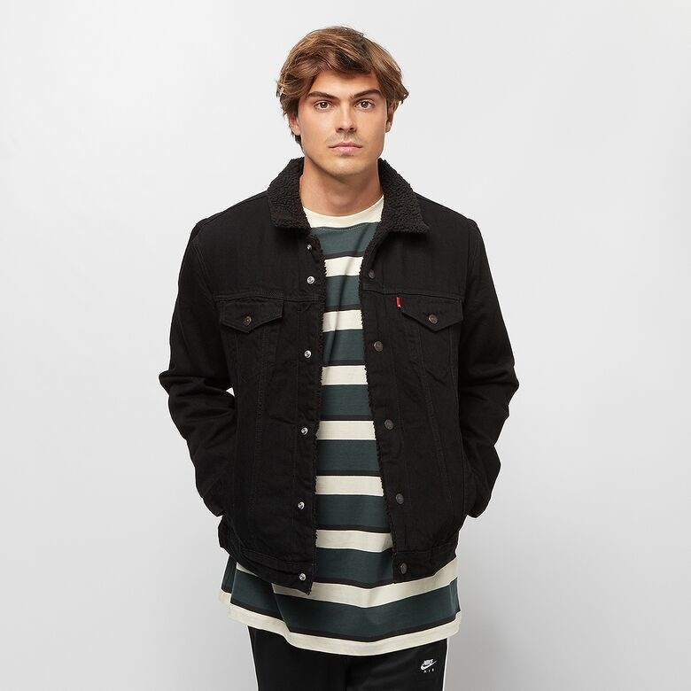 LEVIS veste original jean noir-1