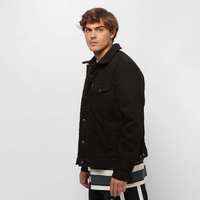LEVIS veste original jean noir-2