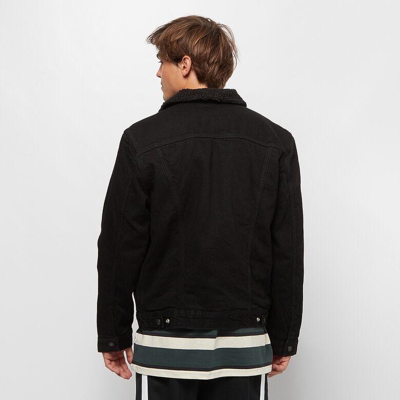 LEVIS veste original jean noir-3