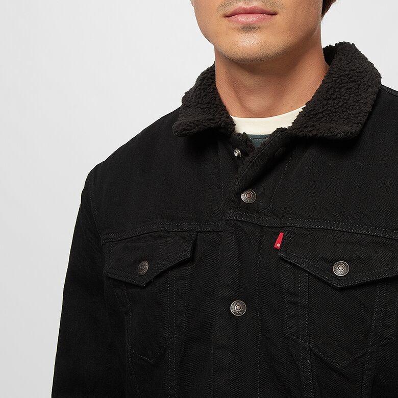 LEVIS veste original jean noir-4