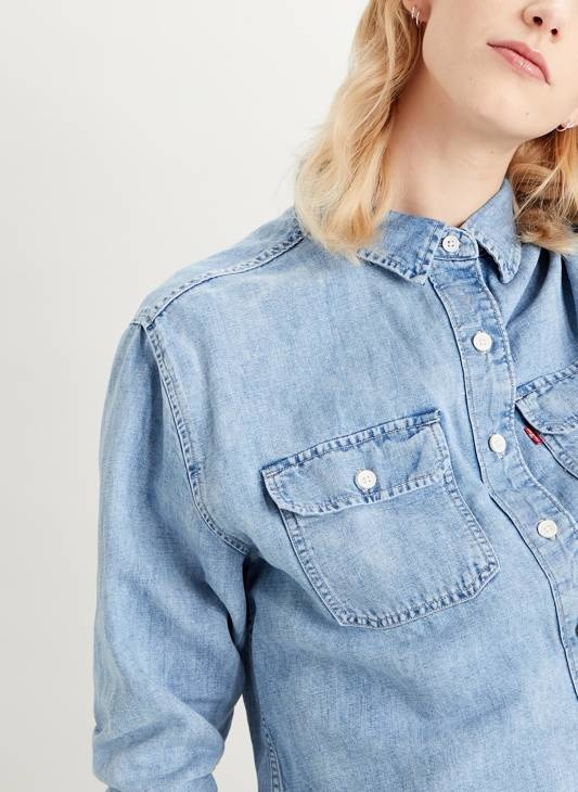 LEVIS chemise loosey goosey-1