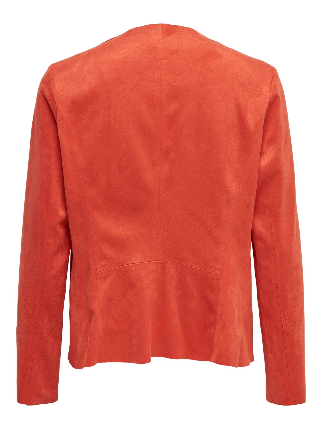 PEPITES only veste stacy drapy faux suede-2