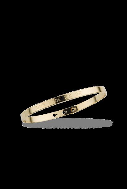 MYA BAY bracelet jonc une amie en or