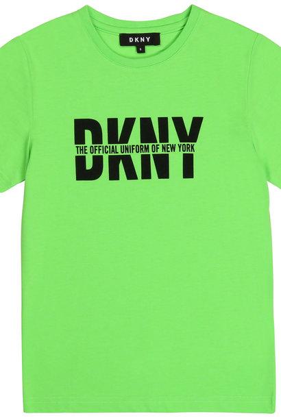 DKNY t-shirt en jersey avec imprimé