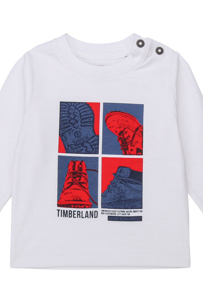 TIMBERLAND t-shirt manches longues jersey