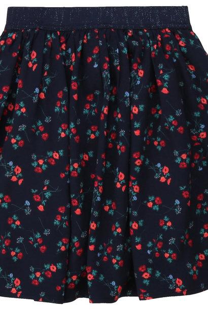 CARREMENT BEAU jupe en viscose à fleurs