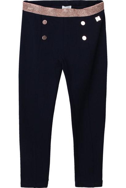 CARREMENT BEAU pantalon en milano à boutons